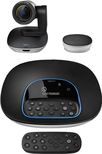 Quadrant - Video Conferencing - Logitech GROUP