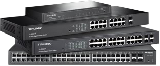 Quadrant Networking - TP Link Smart Switches